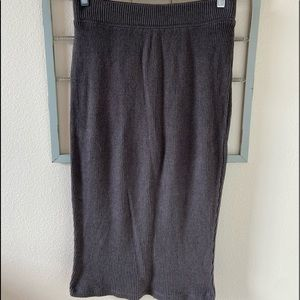NWOT Cotton Blend Pencil Skirt ribbed Size small